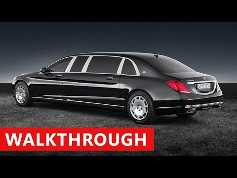 2018 Mercedes Maybach S 600 Pullman EXTERIOR & INTERIOR - Luxury Limousine