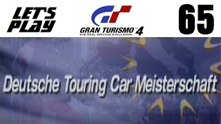Let's Play Gran Turismo 4 - Part 65 - European Events - Deutsche Touring Car Meisterschaft