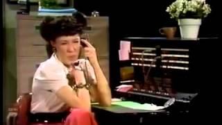 Ernestine the telephone operator calls General Motors