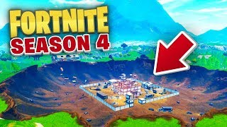NEW DUSTY DIVOT CRATER! - Fortnite Battle Royale SEASON 4 LIVE