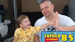 Father and Sonday! | Opening Pokemon Cards with Lukas #85 by The Pokémon Evolutionaries