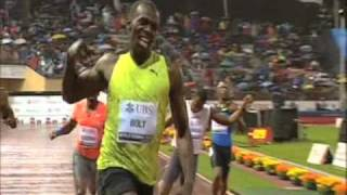 Usain Bolt 19.59 In Lausanne