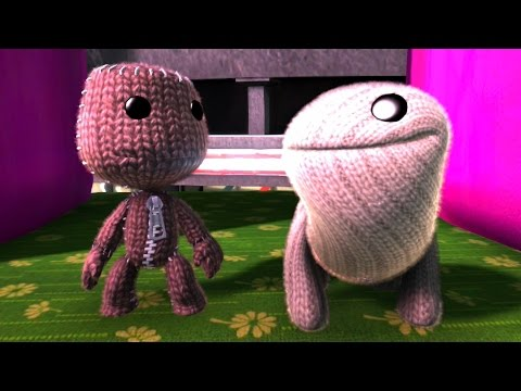 Sackboy Vs Oddsock - LittleBigPlanet 3 Animation