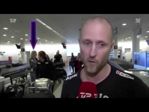 исчезновение человека в прямом эфире   случайно попало в кадр (видео)