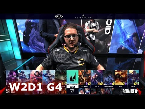 Splyce vs Schalke 04 | Week 2 Day 1 S9 LEC Summer 2019 | SPY vs S04 W2D1