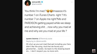 Cardi B Ghostwriter Exposed Pardison Fontaine Newburgh Rapper