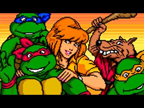 TMNT: Turtles In Time (Arcade) All Bosses (No Damage)