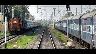 Daund India  City pictures : DAUND to MANMAD : Train Journey on a Single Line Diesel Section (INDIAN RAILWAYS)