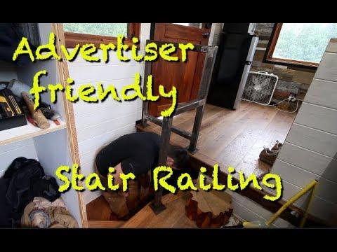 An advertiser friendly stair railing, w/ 7 minute rant