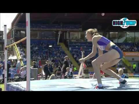 1.91 Isobel Pooley Diamond League Birmingham ( women high jump )