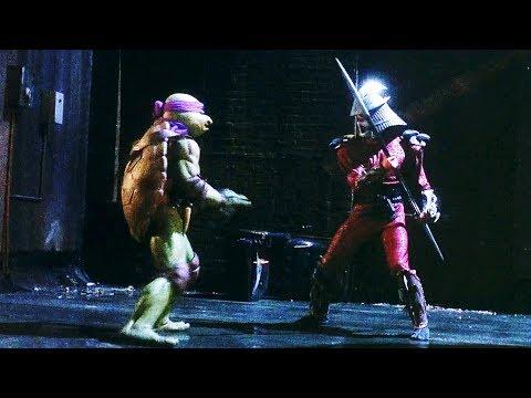 Turtles vs Shredder   Teenage Mutant Ninja Turtles (1990)