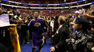 Best of Kobe Bryant on Backstage Lakers