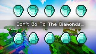 NO CENTER NO DIAMONDS ALLOWED CHALLENGE | Minecraft: Money Wars 1.9 SOLO #37