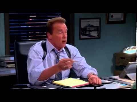 two and a half men last ever episode - arnold schwarzenegger scene