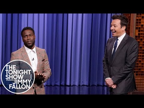 Co-Host Kevin Hart Roasts Jimmy Fallon During His Monologue