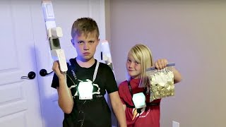 Video COPS AND ROBBERS WITH LASER X BLASTERS! MP3, 3GP, MP4, WEBM, AVI, FLV September 2018