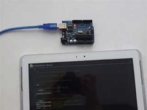 Video of ArduinoDroid - Arduino IDE