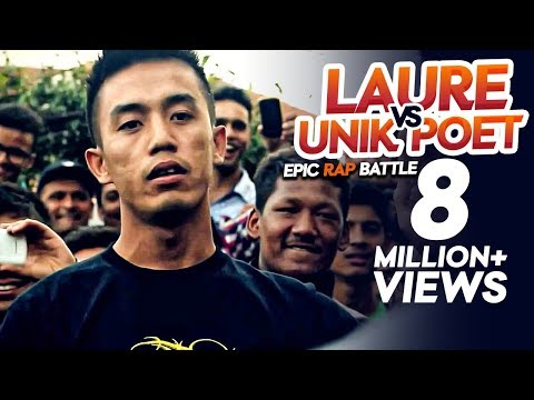 Video Laure Vs Unik Poet [Epic Rap Battle] - Raw Barz download in MP3, 3GP, MP4, WEBM, AVI, FLV January 2017