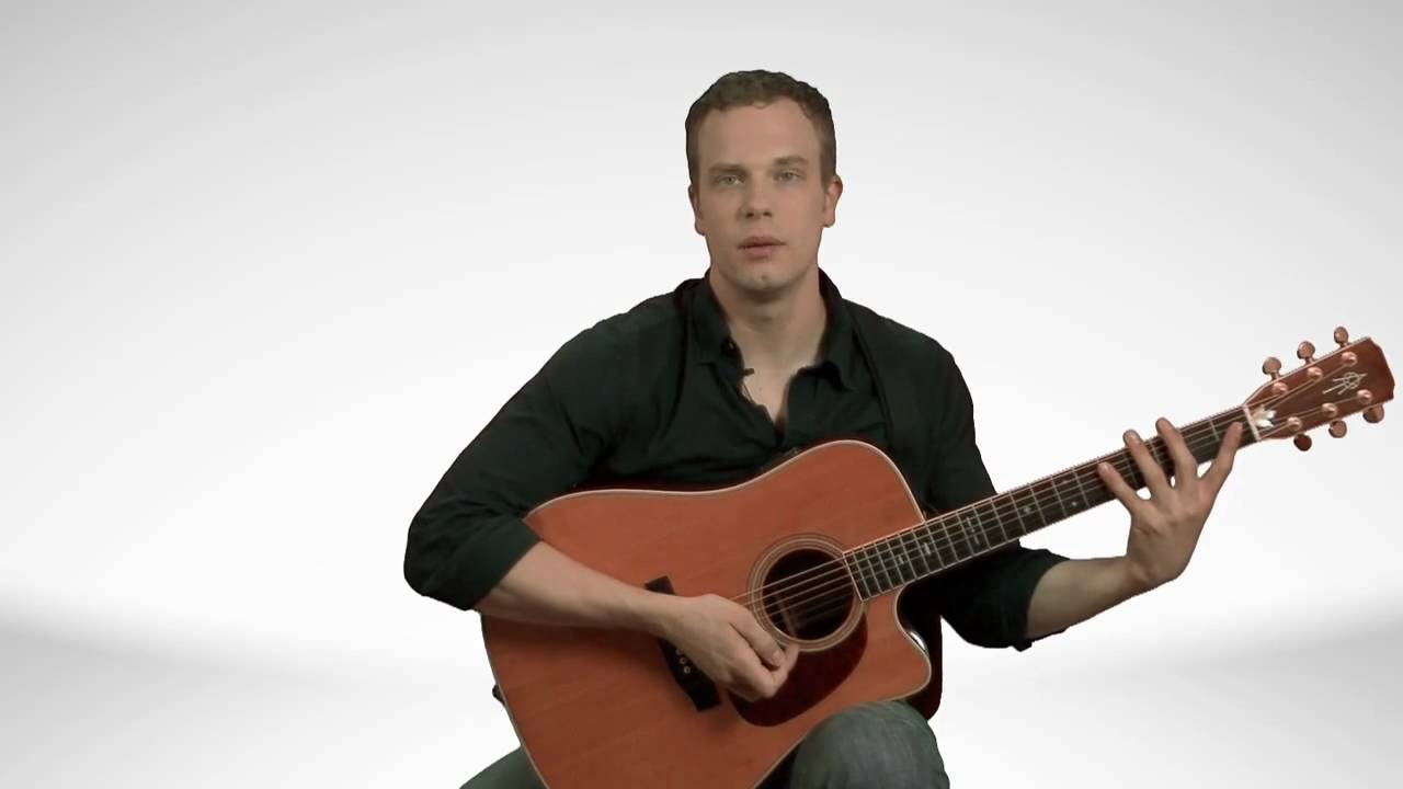 How To Hold An Acoustic Guitar – Guitar Lessons