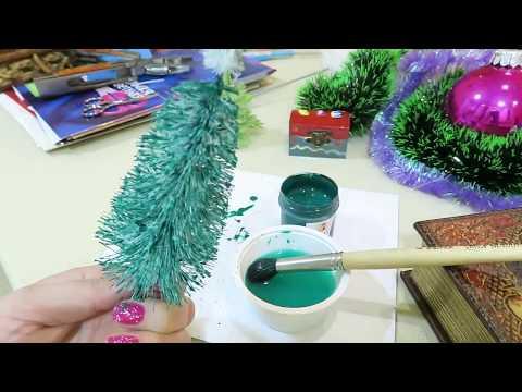 Маленькие игрушки для маленькой елки своими руками