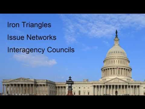 Iron Triangles, Issue Networks and Interagency Councils
