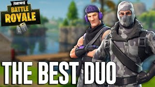 The Best Duo Ever! - Fortnite Battle Royale Gameplay - Ninja & Dr Lupo