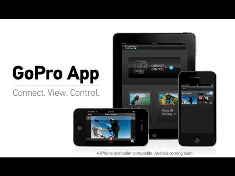 GoPro   Smartphone + Tablet Remote Control App
