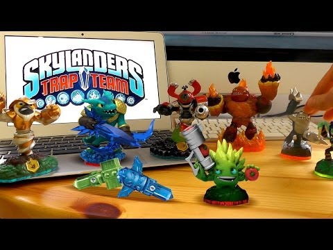 theory - We go hands on with the new Skylanders Trap Team Starter Pack and suggest that the numbers of enemy trappable characters for the new game indicate that two n...