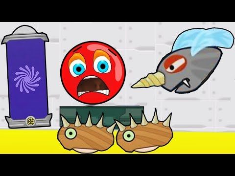 Красный Шарик VS Муха - единорог - вампир / Red Ball только для детей! Серия 9 (видео)