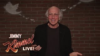 Video Larry David Outtakes – Mean Tweets About Jimmy Kimmel MP3, 3GP, MP4, WEBM, AVI, FLV Agustus 2018