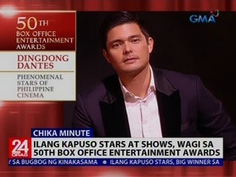 24 Oras: Ilang Kapuso Stars At Shows, Wagi Sa 50th Box Office Entertainment Awards