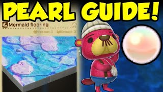 HOW TO GET PEARLS IN ANIMAL CROSSING NEW HORIZONS! Animal Crossing New Horizons Mermaid Recipe Guide by Verlisify