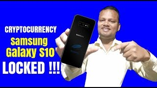 First Hole-Punch-Display Phone  Samsung Galaxy S10 || WITH CRYPTO CURRENCY WALLET ||