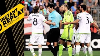Seattle Sounders hand ball vs. Revs: Was it a penalty? | INSTANT REPLAY by Major League Soccer