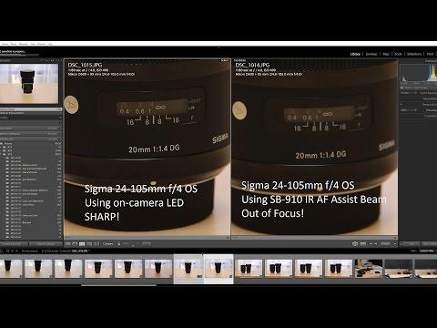 Major Autofocus Problems with Sigma Lenses (Glitch)
