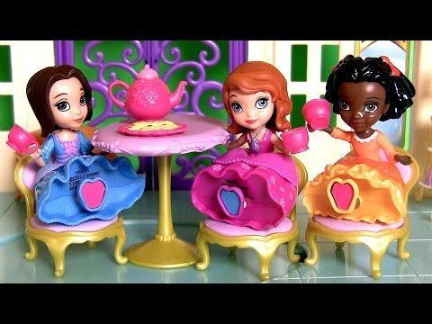 Sofia the First Tea for Three Toys Review Disney Princess Sofia's Royal Tea Party Set