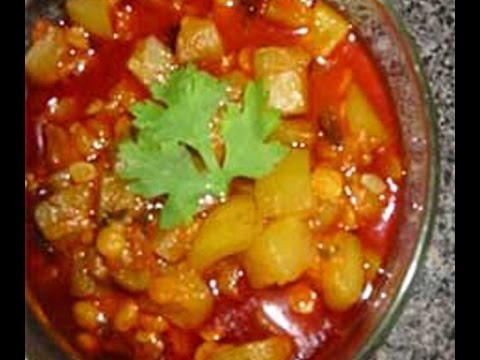 How to Sorakaya curry recipes in Telugu
