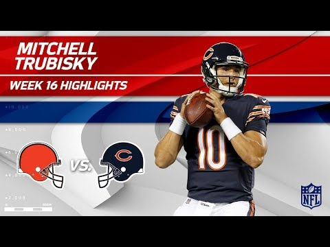 Video: Mitchell Trubisky Highlights | Browns vs. Bears | NFL Wk 16 Player Highlights