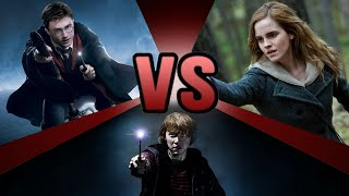 Video Harry Potter VS Hermione Granger VS Ron Weasley | BATTLE ARENA MP3, 3GP, MP4, WEBM, AVI, FLV November 2018