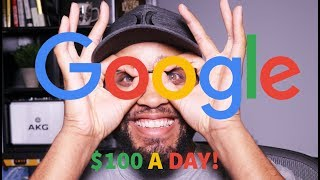 Video HOW TO MAKE $100 A DAY ONLINE FROM GOOGLE. (NEVER SEEN BEFORE!) MP3, 3GP, MP4, WEBM, AVI, FLV Juni 2019