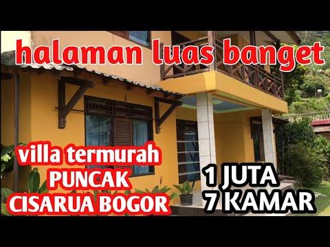 Villa Murah & mewah di PUNCAK cisarua bogor