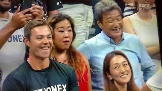 Naomi Osaka 大坂なおみ: Court Interview. 09.06.2018. Semi-Final