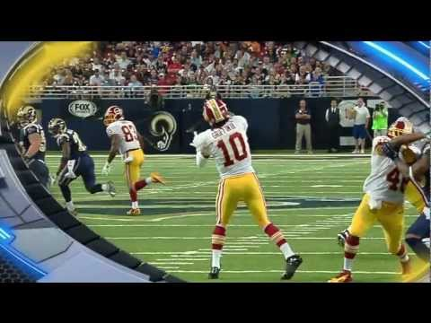 Robert Griffin III 68 Yard Touchdown Pass to Leonard Hankerson