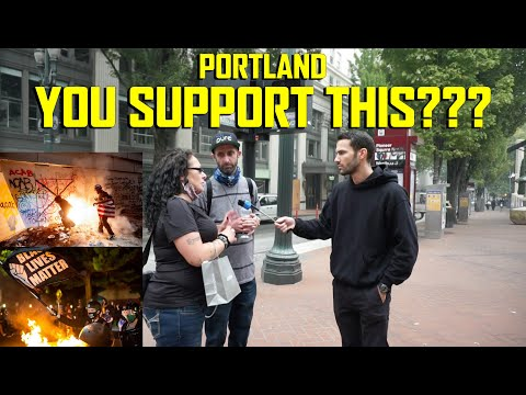 Do Portland Locals Support The Radical Left's Riots & Rhetoric?