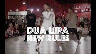Video Dua Lipa - New Rules | Hamilton Evans Choreography MP3, 3GP, MP4, WEBM, AVI, FLV Mei 2018
