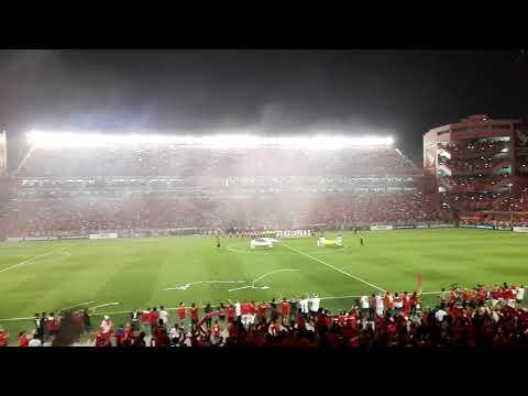 Recibimiento a Independiente vs Flamengo - La Barra del Rojo - Independiente - Argentina - América del Sur