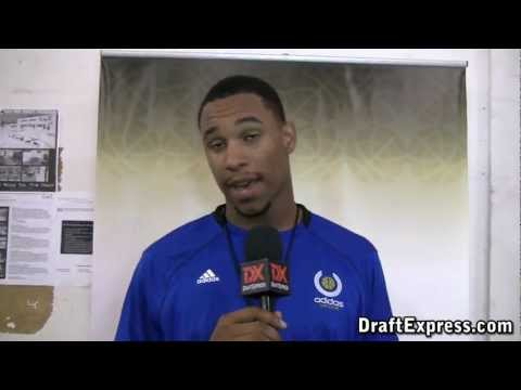 Jared Sullinger DraftExpress 2011 adidas Nations Interview & Practice Footage