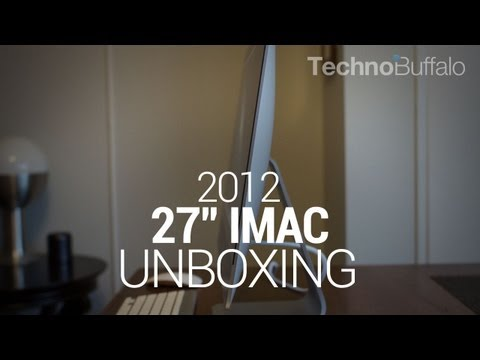 2012 imac - Apple 27-inch iMac (Late 2012) Unboxing: Spec-tacularly Thin and Beautiful We already had the opportunity to get our mitts on Apple's 21.5-inch iMac (late 20...