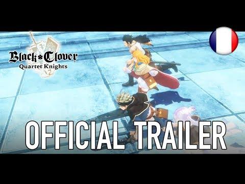 Premier trailer officiel de Black Clover Project Knights