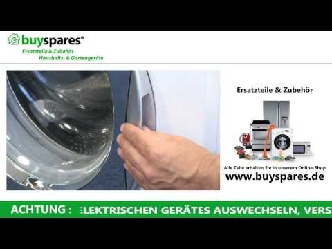 Anleitung: Wie man eine festklemmende Waschmaschinentür öffnet